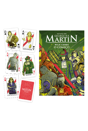 Wild Cards - O Começo + Kit De Cards Dos Personagens - Martin,George R. R. pdf epub