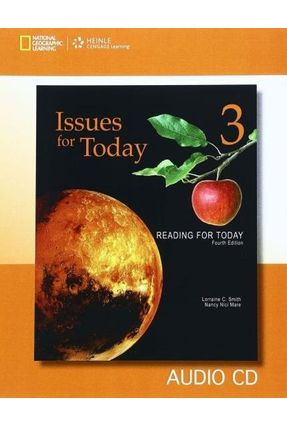 Reading For Today 3 - Issues For Today - Audio CD - Smith,Lorraine C. Mare,Nancy Nici | Hoshan.org