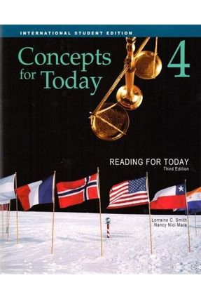 Reading For Today 4 - Concepts For Today - Student Book - Smith,Lorraine C. Mare,Nancy Nici   Hoshan.org