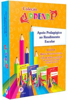 Apoio Pedagógico ao Rendimento Escolar - 4 Livros - Coleção Aprende - Lopes,Beatriz Guilherme,Inez   Hoshan.org