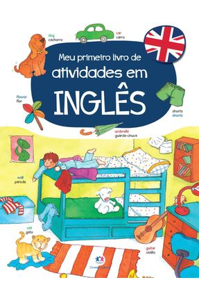 Meu Primeiro Livro De Atividades Em Inglês - Libsa | Hoshan.org