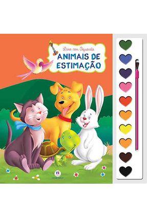 Animais de Estimação - Livro Com Aquarela - Editora Ciranda Cultural pdf epub