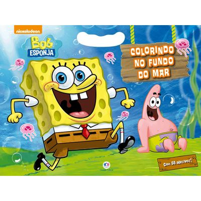 Bob Esponja - Colorindo No Fundo Do Mar
