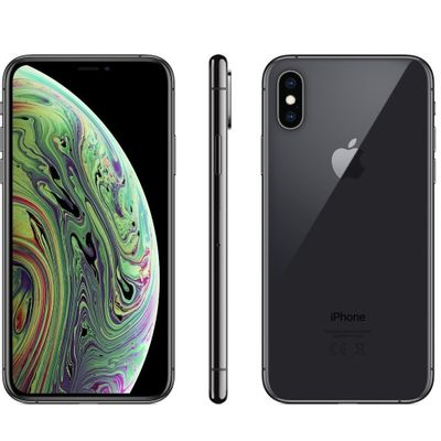 iPhone Xs Apple 64GB Tela Super Retina 5.8'' iOS Câmera 12MP Cinza Espacial MT9E2BZ/A