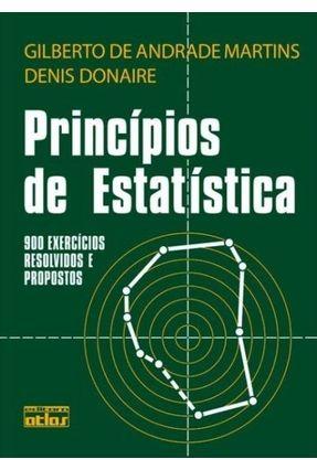 Princípios de Estatística - Martins,Gilberto de Andrade | Tagrny.org