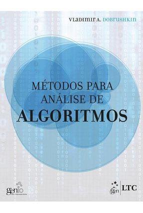 Métodos Para Análise de Algoritmos - Dobrushkin,Vladimir A. pdf epub