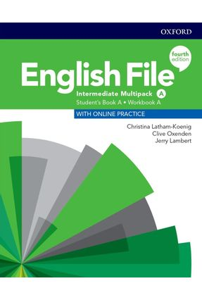 English File Interm A Sb/Wb Multipk 4Ed - Col. English File - CHRISTINA LATHAM-KOENIG Clive Oxenden Kate Chomacki   Nisrs.org