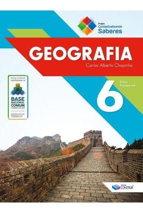 Contextualizando Saberes - Geografia - 6° Ano - Chopinho,Carlos Alberto   Hoshan.org