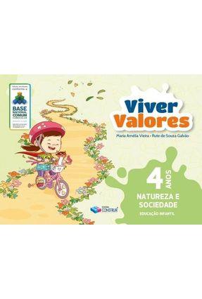 Viver Valores - Natureza e Sociedade - 4 Anos - Nova Edição - Vieira,Maria Amélia Galvão,Rute Souza pdf epub