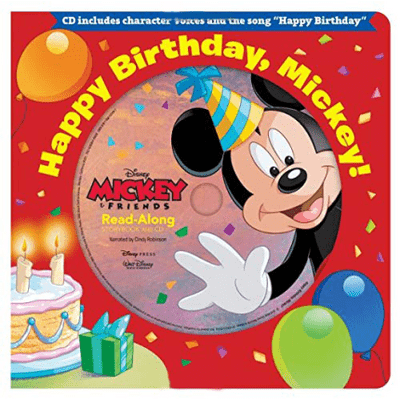 Happy Birthday, Mickey! - Read-Along Storybook & CD