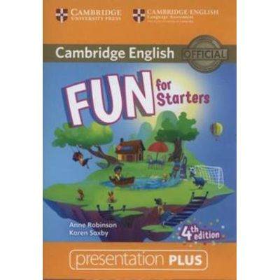 FUN FOR STARTERS PRESENTATION PLUS DVD-ROM - 4TH ED