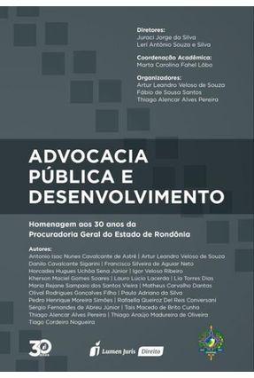 Advocacia Pública E Desenvolvimento - Souza,Arthur Leandro Veloso de | Tagrny.org
