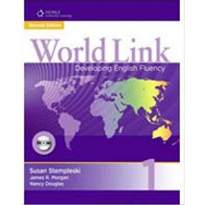 World Link 2nd Edition Book 1 - Student Book + Student CD-ROM