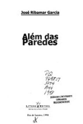 Além Das Paredes - Garcia,José Ribamar | Hoshan.org