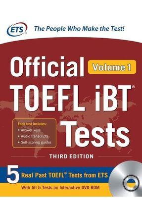 Official Toefl Ibt® Tests Vol. 1 - Educational Testing Service | Hoshan.org
