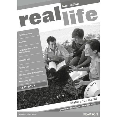 Real Life Inter Tst Bk W/ Aud Cd 1E Inter Test Book W/Audio Cd 1E