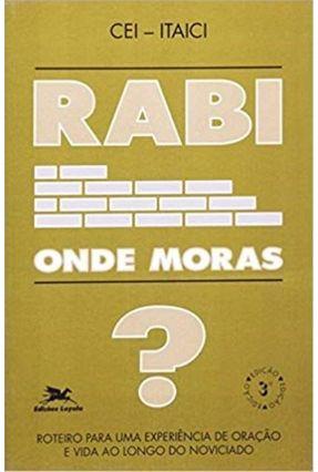Rabi Onde Moras? - Vários Autores | Hoshan.org