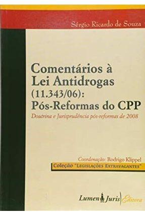 Comentários À Lei Antidrogas - Souza,Sérgio Ricardo de pdf epub