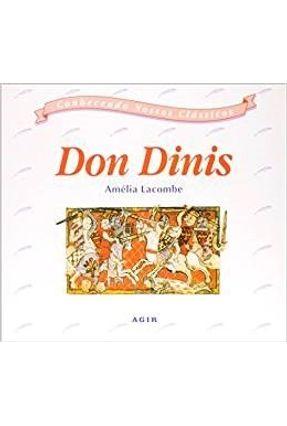 Don Dinis - Conhecendo Nossos Classicos - Lacombe,Amelia | Nisrs.org