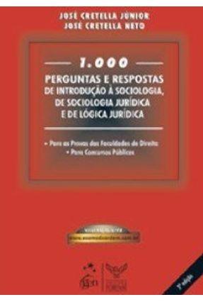 1000 Perguntas e Respostas De Direito do Trabalho e De Processo do Trabalho - 15ª Edição 2008 - Cretella Neto,José Junior,J. Cretella pdf epub