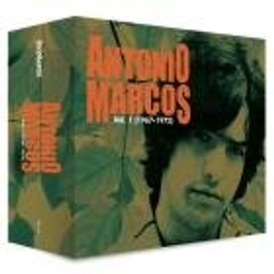Antonio Marcos - Vol. 1 (1967 - 1972) - Box Com 4 CDs