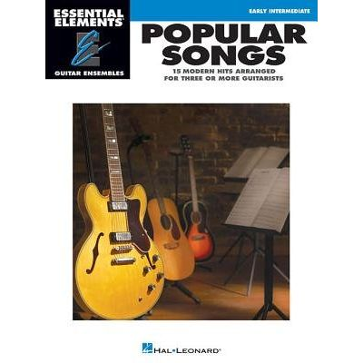 Popular Songs - Essential Elements Guitar Ensembles Early Intermediate