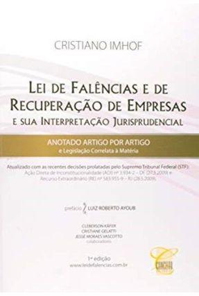 Lei de Falências e de Recuperação de Empresas - Imhof,Cristiano | Hoshan.org