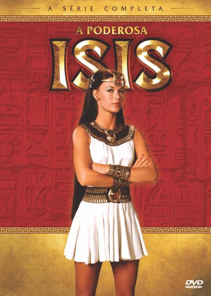 A Poderosa Isis - A Série Completa - DVD - Saraiva