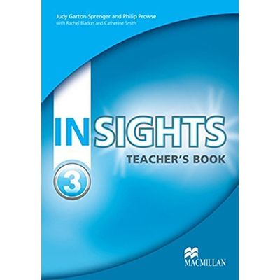 Insights 3 - Teacher's Book With Test CD-ROM