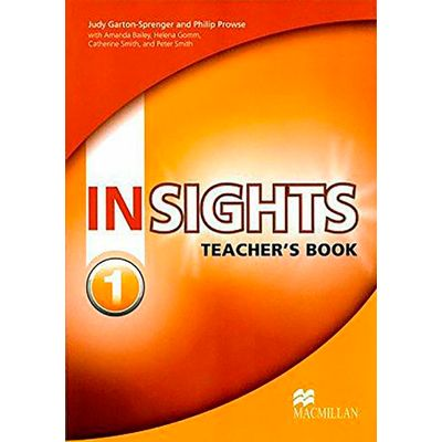 Insights 1 - Teacher's Book With Test Cd-Rom