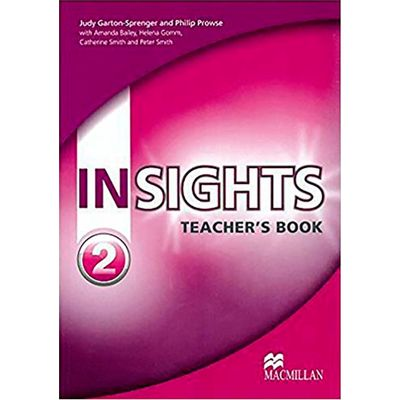 Insights 2 - Teacher's Book With Test Cd-Rom