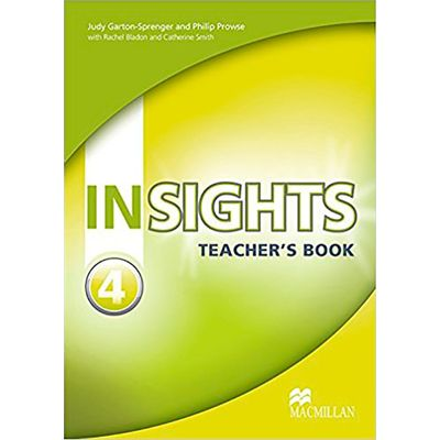 Insights 4 - Teacher's Book With Test Cd-Rom