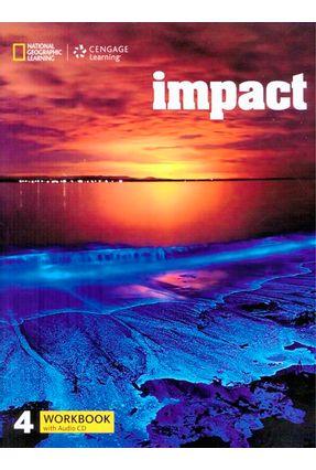 Impact - Bre - 4 - Workbook + Workbook Audio CD - Thomas Fast JoAnn (Jodi) Crandall Shin,Joan Kang | Hoshan.org