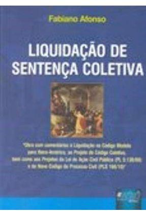 Liquidação de Sentença Coletiva - Afonso,Fabiano | Hoshan.org