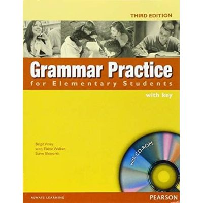 Grammar Practice For Elementary Students With Key + Cd