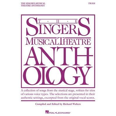 Singer's Musical Theatre Anthology Trios - Book Only