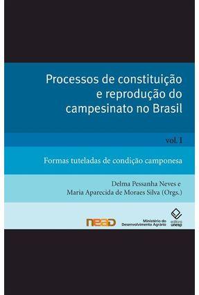 Processos de Constituição e Reprodução do Campesinato no Brasil - Vol.1 - Neves,Delma Pessanha Silva,Maria Aparecida Moraes pdf epub