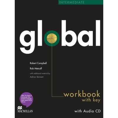 Global Intermediate - Workbook And Audio CD - With Key