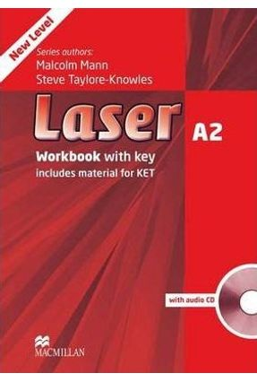 Laser A2 - Workbook With Audio CD - with Key - New Edition - Macmillan | Nisrs.org