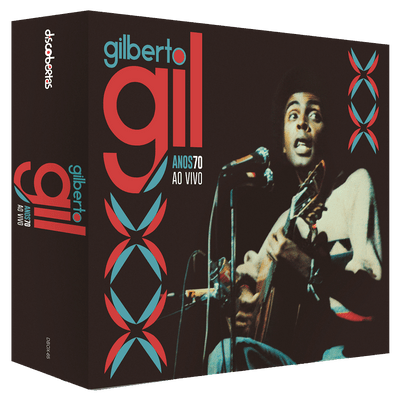 Gilberto Gil - Anos 70 ao Vivo - Box Com 6 CDs