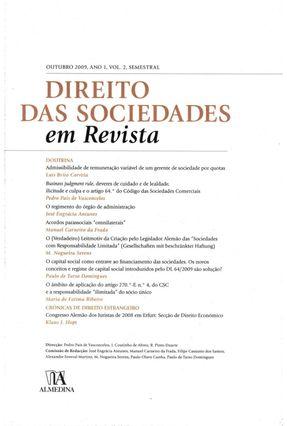Direito Das Sociedades Em Revista - Col.Revista - Direito Das Sociedades Em Revista - Almedina | Tagrny.org