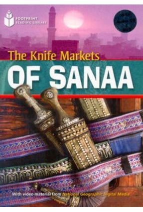 Footprint Reading Library - Level  2  1000 A2 - The Knife Markets Of Sanaa - American English + Multirom - Waring,Rob   Nisrs.org