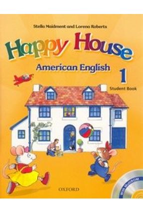 Happy House 1 - American English - Student Book With Multirom Pack - Maidment,Stella | Nisrs.org