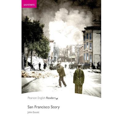 San Francisco Story - Level 1 - Pack CD MP3 - Penguin Readers
