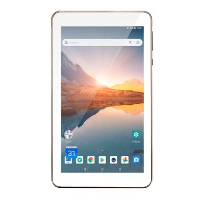 Tablet M7S Plus+ Wi-Fi e Bluetooth Quad Core Memória 16GB 7 Pol. Câmera Frontal 1.3MP e Traseira 2.0MP 1GB RAM Android 8.1 Dourado Multilaser - NB301