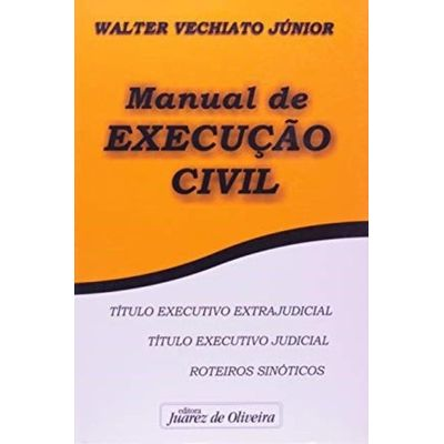 Manual De Execução Civil