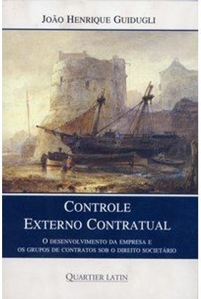 Controle Externo Contratual - Guidugli,João Henrique pdf epub