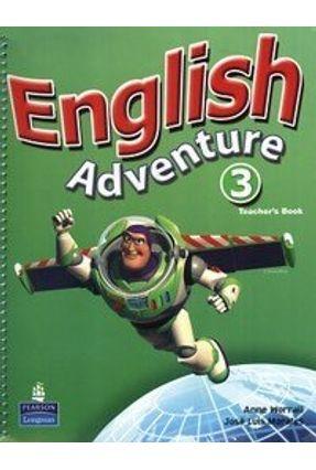 English Adventure 3 - Teacher Book/ Activity Book with CD Audio Versão Inglês - Morales,Jose Luis Bruni,Cristiana pdf epub