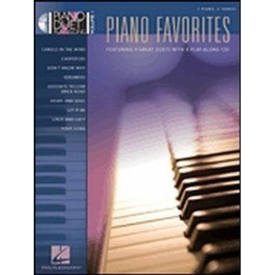 Piano Favorites - Piano Duet Play-along - Vol. 1