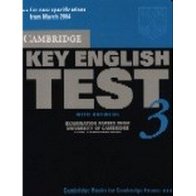 Cambridge Key English Test 3 - Student's Book With Answers